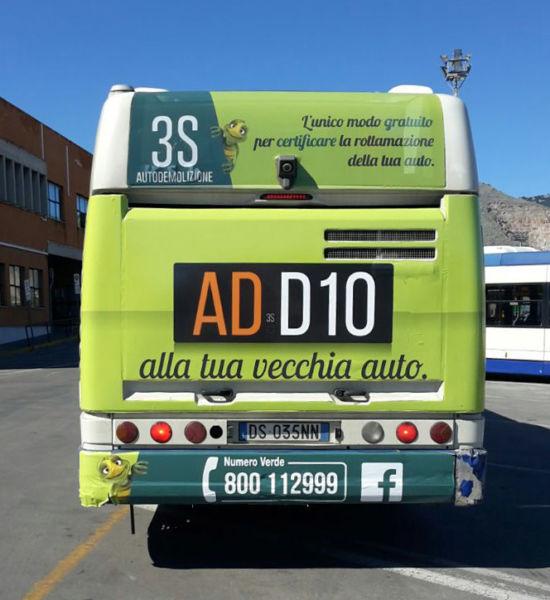 Visiva - Dinamica bus a Palermo